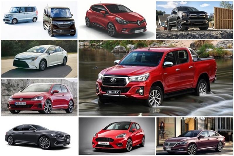 2018 各國銷售冠軍出爐,誰說日系車一定比較吃香?