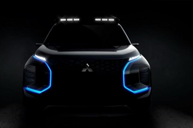再推休旅新作品?三菱新 SUV 預告三月登場!