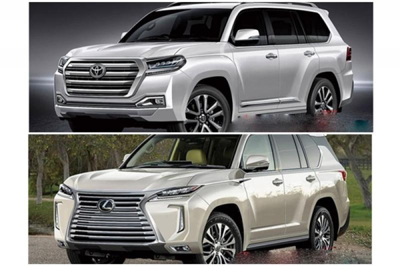旗艦休旅雙雄,Toyota Land Cruiser/Lexus LX 大改款開發醞釀中!