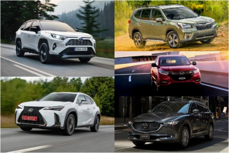 2019 日媒最推薦這 5 款 SUV,只有 1 款台灣買不到!