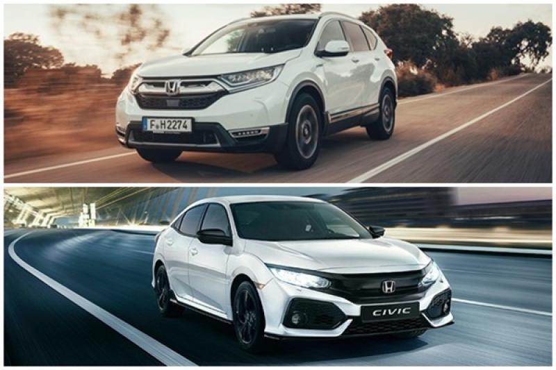 台灣車迷好羨慕,Honda CR-V Hybrid/Civic 特仕車德國開賣!