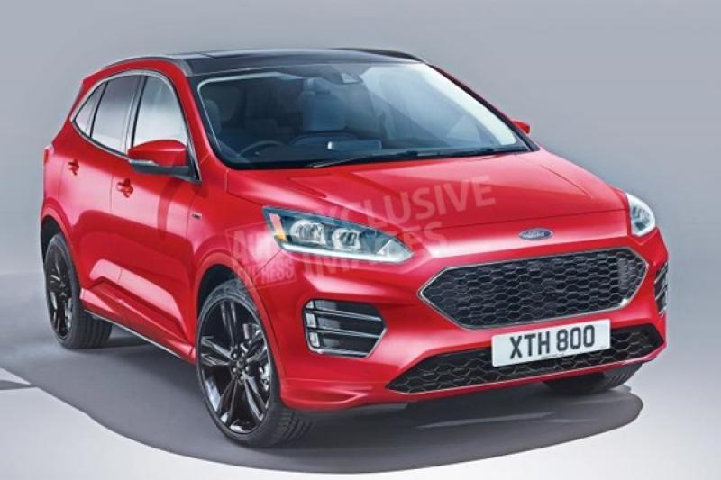 年底將登場的新 Ford Kuga 長這樣?對手 RAV4 與 CR-V 要留意了!