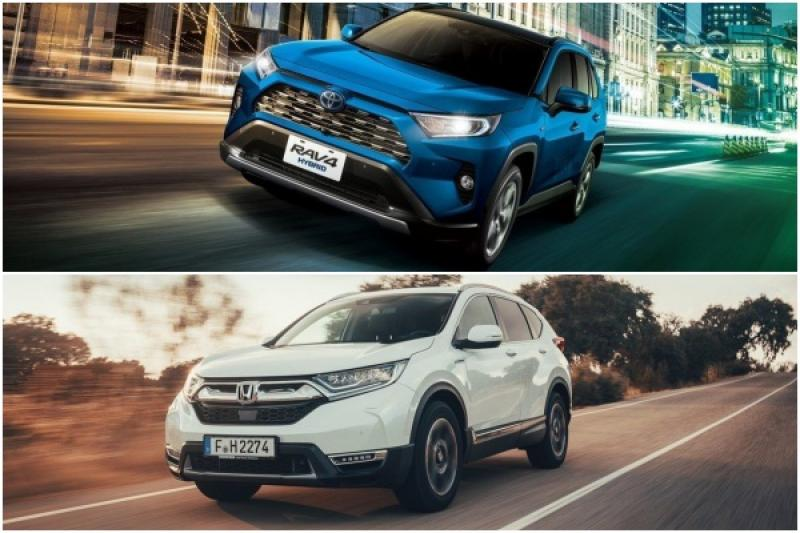 Toyota RAV4 台灣上市倒數!與 Honda CR-V 相比有哪些優勢?