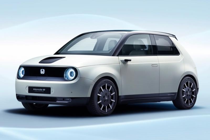 這樣的顏值只要「充得到電就買」,Honda e 電動原型車日內瓦展前公開!