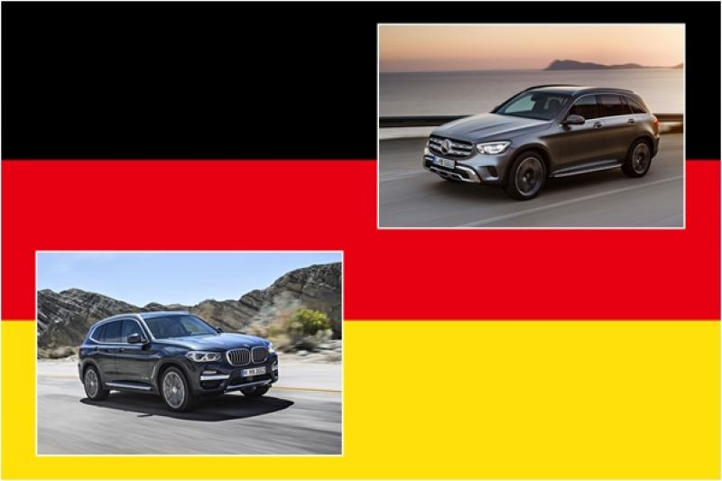 Mercedes-Benz 與 BMW 中型 SUV 動力性能之爭,GLC 小改款後高下立見