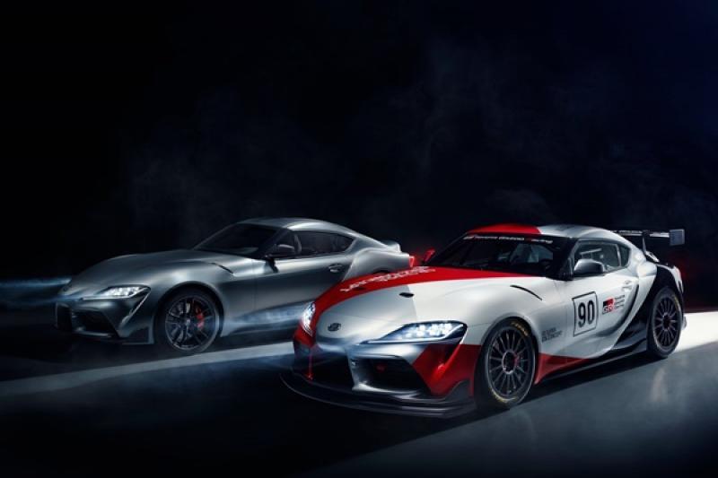 大老闆豐田章男是真熱血漢,Toyota GR Supra GT4 概念賽車預告現身日內瓦!