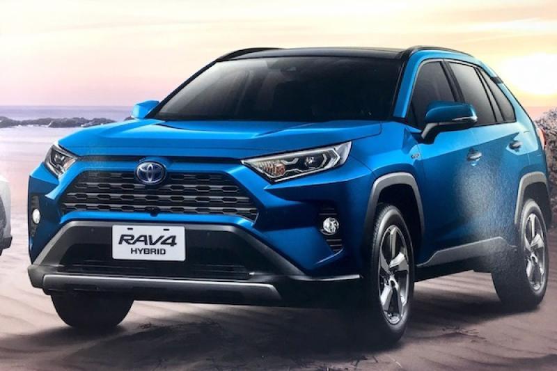 比第 4 代還便宜!Toyota RAV4 大改款台灣公布正式售價