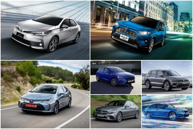 2019 年 2 月台灣汽車銷售排行出爐,比起去年同期衰退近 3 成!