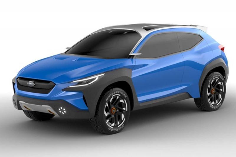 淘汰傳統後視鏡,Subaru 首度公開 VIZIV Adrenaline 全新跨界休旅!
