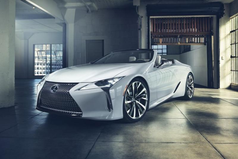 最接近量產實車的概念版,Lexus 首度亮相的新車讓人驚豔!