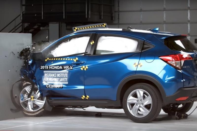 安全強度再提升!美規小改 Honda HR-V 撞出 IIHS 好評價!