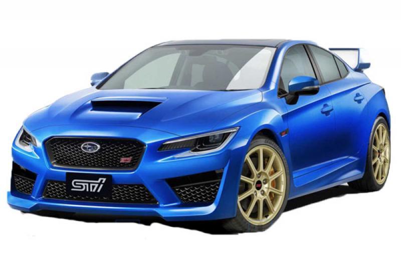 熱血迷看過來!下一代 Subaru WRX STi 預想圖首曝光