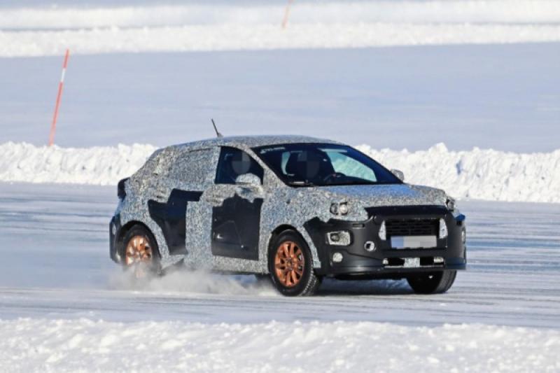 Ford 神秘偽裝車遭捕獲!有望是新一代 Ecosport 或是全新 SUV