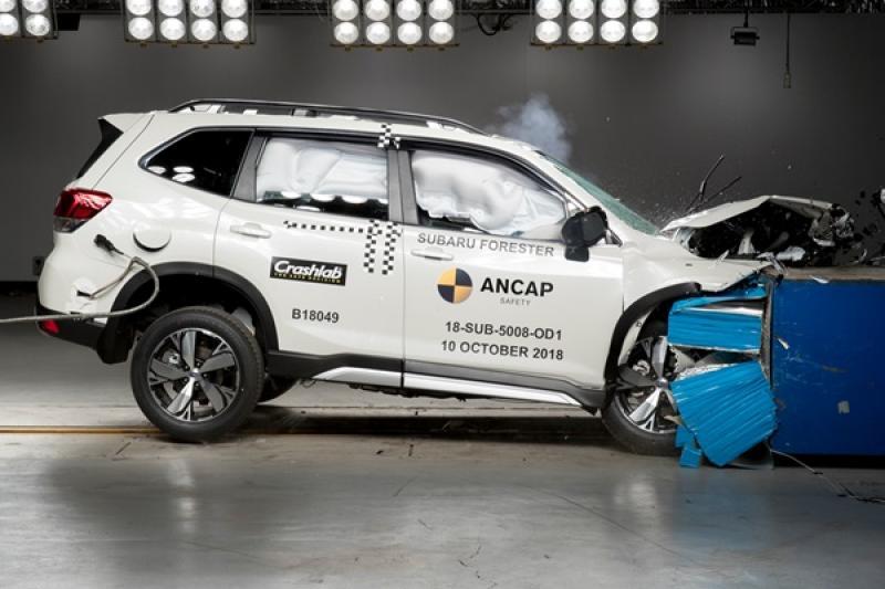新一代 Subaru Forester 挑戰 ANCAP 撞測,表現結果公布!(內有影片)