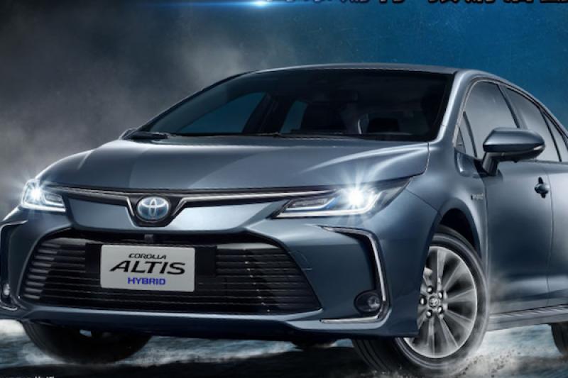 除了 Toyota Altis 1.8 油電車,還有一款運動化 Hybrid 車款可選...