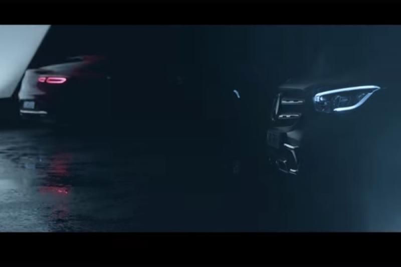 賓士釋出 GLC Coupe 預告影片,最快登場的時間點有譜了!