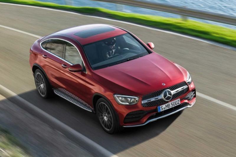 等不及正式發表!M.Benz 搶先揭開小改款 GLC Coupe 面紗(內有相片集)
