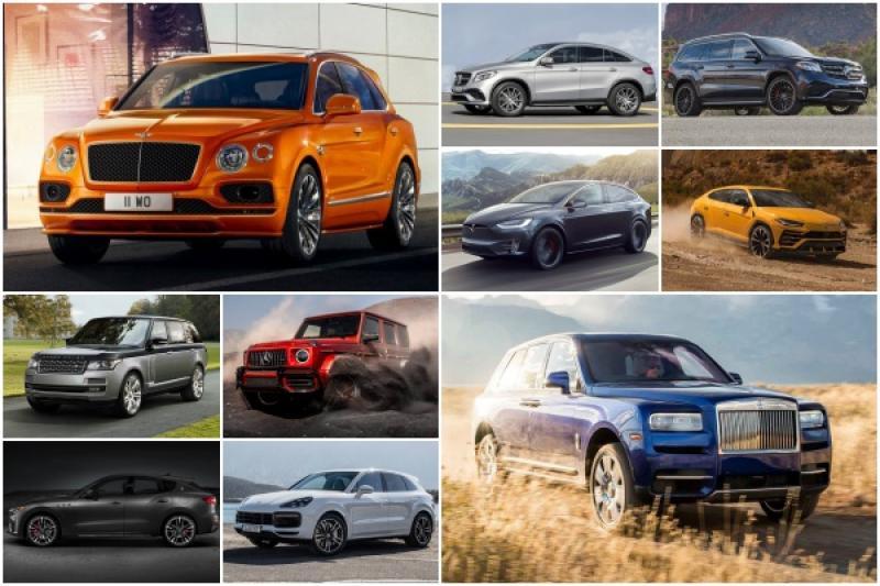 千萬豪宅路上跑!全球身價最高的 10 款 SUV 是它們