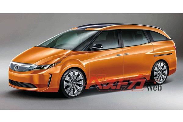 TNGA 底盤加持、空間變更大,Toyota Previa 終於要改款了!