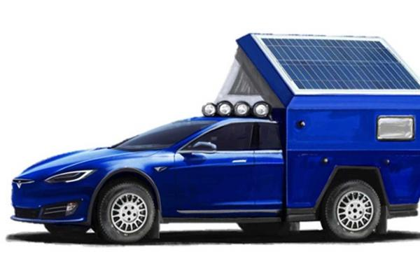 全球首款 Tesla 露營車下週亮相!大床、廁所通通都有