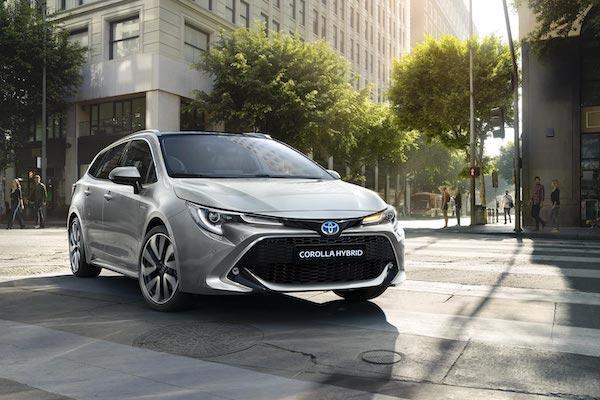 Toyota公布第一季歐洲銷售表現,Hybrid 車型佔比超過 50%!