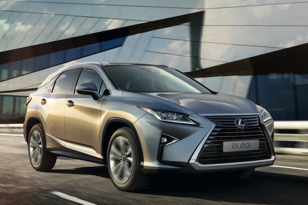 Lexus RX 休旅將推小改款,日媒已掌握正式上市時間!