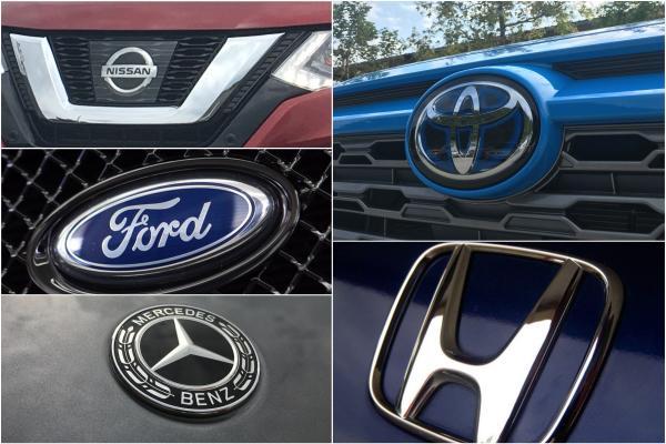 台灣第一季汽車品牌銷售排行前 10 名公佈,Mazda 重挫近 4 成!