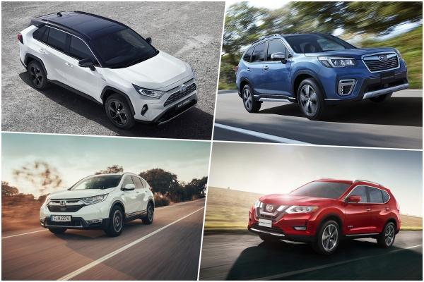 日本 4 款主流 SUV Hybrid 車型誰最省油?新 RAV4 稱霸有難度
