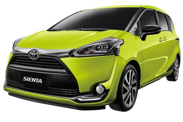 Toyota Sienta 升級外觀套件,BSM 盲點及 RCTA 也成新配備之一!