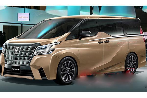 車室空間變更大,大改款 Toyota Alphard 有望今年見!