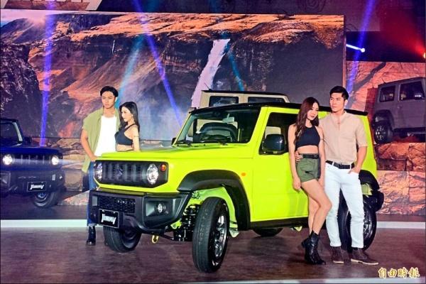 第4代Suzuki Jimny 台灣2年配額被訂光