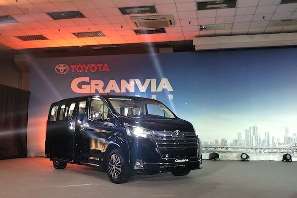 搶商務客及 3 代同堂家庭市場,Toyota Granvia 台灣成全球首發地!