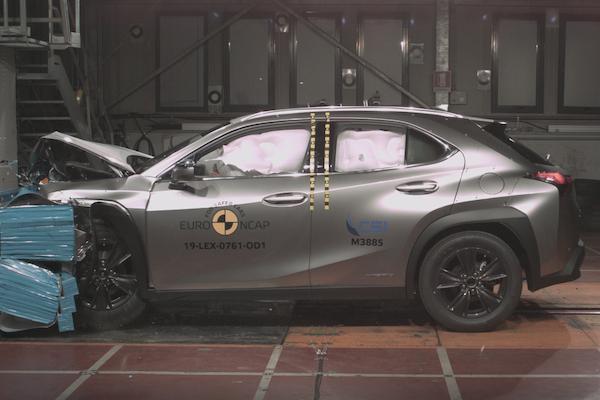 多款新車接受ANCAP撞擊測試 Toyota RAV4及Lexus UX成績揭曉