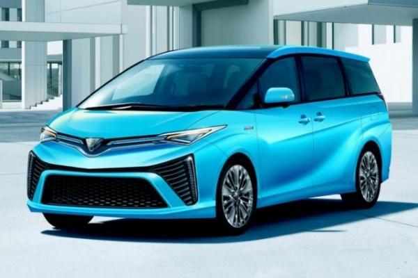 Toyota 四代 Previa 有望東京車展亮相,日媒最新預想圖出爐!