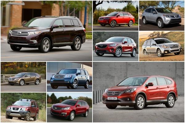 美汽車估值機構:最推薦的 10 款二手 SUV!有 5 款台灣都買得到