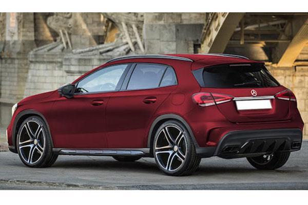 較勁 BMW X2!M.Benz 跨界休旅 GLA 即將上陣