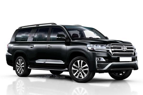 主打大空間越野休旅,大改款 Toyota Land Cruiser 新資訊流出!