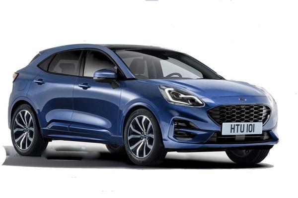 Ford 重返歐洲車展露玄機,全新跨界小休旅有望提前今年亮相!