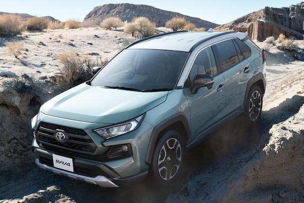 日本 5 月新車銷售排行揭曉,前 10 名今年首見 SUV 休旅進榜!