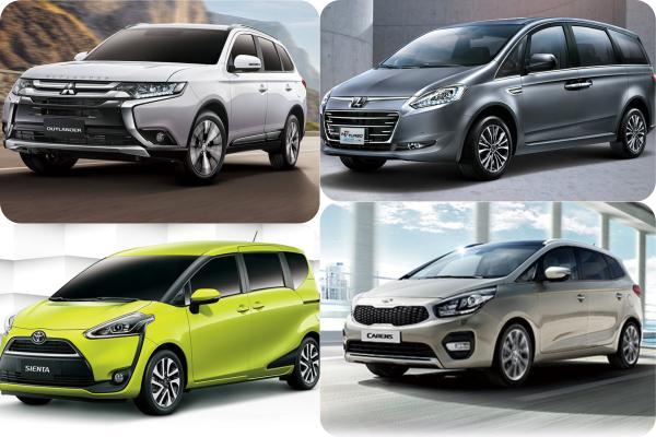 想買 100 萬以內 7 人座車款?5 款選擇只有一款是 SUV