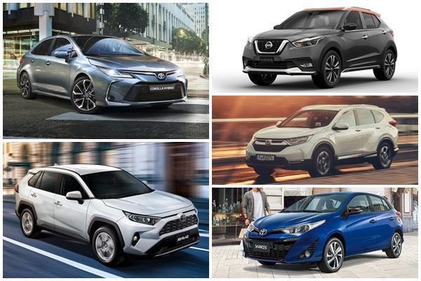 賣最好不是休旅車,台灣今年上半季新車銷售前 10 名出爐!