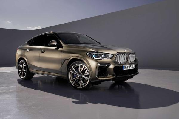「鼻孔」會發光!BMW 新一代 X6 正式亮相(內有相片集)