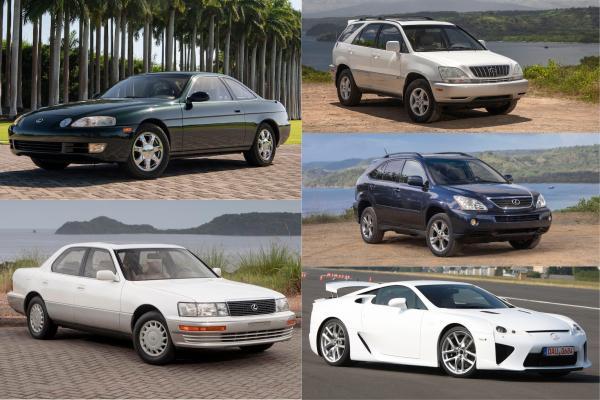 Lexus 30 週年里程碑,一次直擊 5 大經典車款!