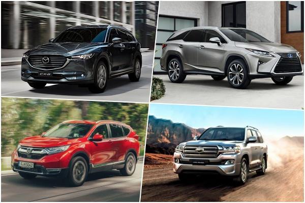 日媒推薦 8 款七人座 SUV,第三排座椅舒適性是關鍵!