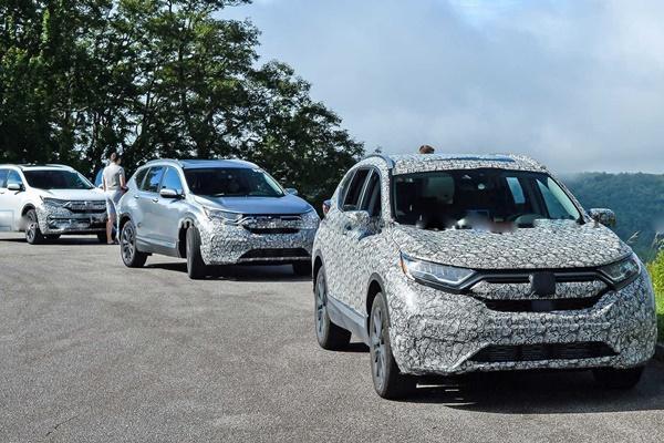 Toyota RAV4 小心了!Honda CR-V 改款新車首度曝光