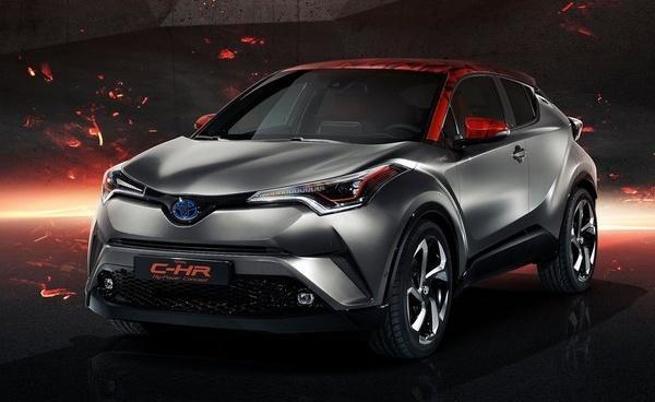 叫戰 HR-V 小改款,日媒稱 Toyota C-HR 小改款 10 月問世!