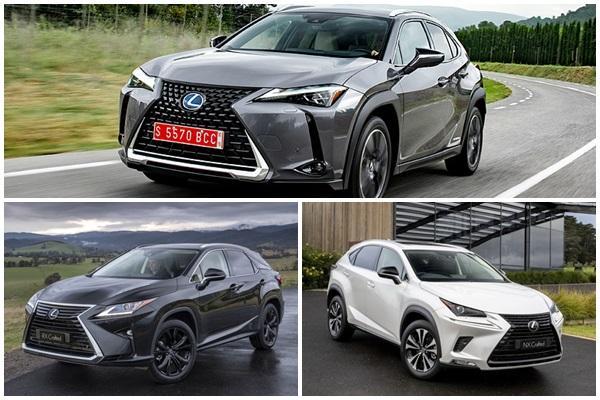 休旅車陣容是最佳助攻手,歐洲 Lexus 點名三款熱賣新車!