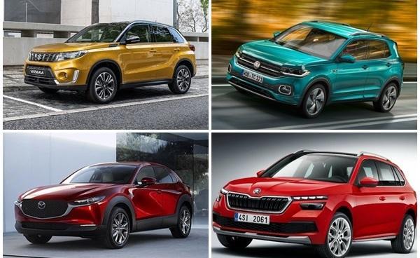 下半季除了 Suzuki Vitara  台灣還有3款同級小休旅準備上市