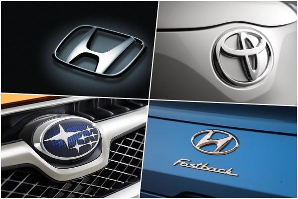 2019 最受讚譽 10 大汽車品牌,前 3 名都被日系車廠卡位!