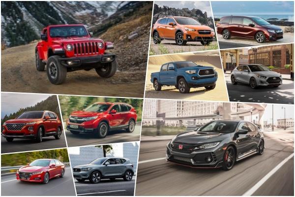 2019 年綜合評比最高 10 款車!前 5 名有 4 款來自同一品牌